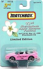 71th Shenandoah Apple Blossom Festival Ford Mustang Cobra Convertible pink color