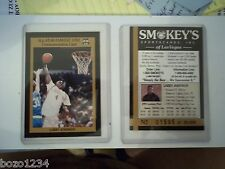 10 LARRY JOHNSON 1991 ALL STAR FANFEST COMMEMORATIVE CARD SMOKEYS LAS VEGAS NV