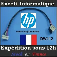 Connecteur alimentation dc jack cable wire dw112  HP HDX18 X18  HP DV8 DV8T