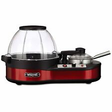 Waring Pro Popcorn Maker with Melting Station, Red