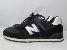 NEW BALANCE 574 Running Shoes Trainers Sneakers Black Blue Mens 13 D EUR 47.5