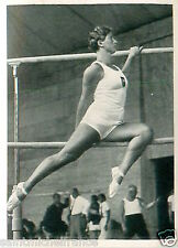 Erna Bürger Germany Parallel bars Artistic Gymnastics OLYMPIC GAMES 1936 CARD