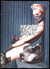 OLIVIA DeBERARDINIS 2 - Olivia Series 2 - Chromium Chase Card C2 - Kitty