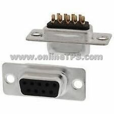 12 Pc DB9 Male-Female Connector 6 Pc Each For Custom Cables Interface Circuit