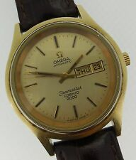 Omega Vintage Seamaster Automatic Cosmic 2000 Day/Date Large Gold Tone Case