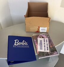 RARE# BARBIE OF THE WORLD Collector MATTEL FULL FACTORY SEALED DOLL MANUAL