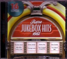 Rare Jukebox Hits 1957 CD Classic 50s SONNY JAMES SAM COOKE BUDDY KNOX COASTERS
