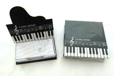 Music Themed Grand Piano Style Memo pad Box Set