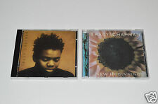 TRACY CHAPMAN 2 CD Lot Collection Albums NEW BEGINNING 1995 & SELF-TITLED 1988