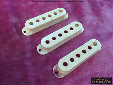 Vintage 1959 PRE-CBS Fender Stratocaster Pickup Covers Slab Board 1958 1960 1961