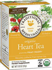 TRADITIONAL MEDICINALS TEAS Heart Tea with Hawthorn 16 Bags