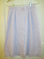 VINTAGE DELUXE EXPRESS LAVENDER COTTON DUCK SKIRT SIZE 13  No pockets