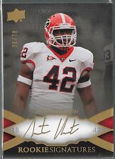 2011 Upper Deck Exquisite Justin Houston On Card Auto Rc # /70