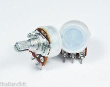 3 pcs Alpha 20KB / B20K / 20K Linear Pot Potentiometer 15mm 1/4W Volume Control