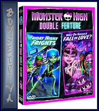 MONSTER HIGH: FRIDAY NIGHT FRIGHTS/WHY DO GHOULS FALL IN LOVE? ***BRAND NEW ***