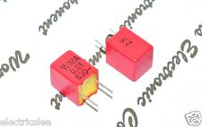 10pcs-WIMA FKP2 0.01uF (0.01µF 10nF) 630V 2.5% pich:5mm Polypropylene Capacitor