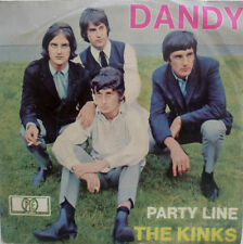 "7"" 1965 BEAT! THE KINKS Dandy // DAS ORIGINAL IN VG+ \"