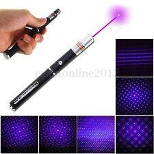 5 En 1 405nm 0.5mw Visible Violet Faisceau Haute Puissance Laser Pointeur Stylo
