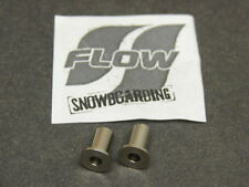 New NOS Flow Snowboard Binding Pin Replacement Parts Quantity of 2