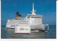 "STENA SEALINK LINE ""STENA INVICTA FERRY"" SHIP ISSUED POSTCARD"