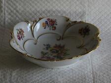 Pretty JL Menau 20cm Floral Gilded Dish Bowl