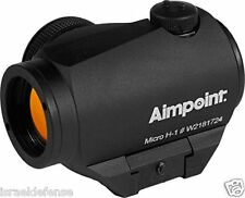 Micro H-1 Aimpoint 4MOA Red Dot Scope With Picatinny Mount + 30mm Spacer