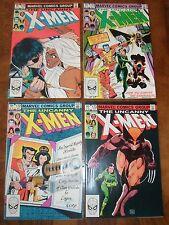 Uncanny X-Men Bronze Age Lot Run 170 171 172 173 Rogue Wolverine 1983