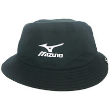 Mizuno Golf Waterproof Bucket Hat, Small/Medium Black