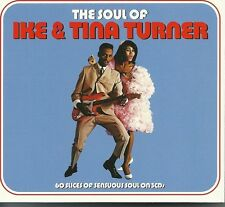 THE SOUL OF IKE & TINA TURNER - 3 CD BOX SET - A FOOL IN LOVE & MORE