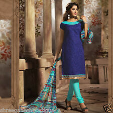 LATEST CHANDERI SILK COTTON EMBRODIERY UNSTITCHED SALWAR KAMEEZ DESS MATERIALS