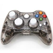 Wireless Gamepad Controller Manette for Microsoft Xbox 360 Console Black Glow