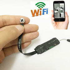 Wireless Spy Nanny Wifi 720P HD Mini P2P Internet Tiny screw Lens Camera DV DVR