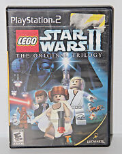 LEGO Star Wars II The Original Trilogy Video Game PS2 Playstation 2 No Manual