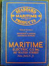 Seaboard Maritime Products: Catalog of Electrical Supplies and Equipment HC Book