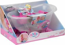 New BABY Born Doll's Interactive Bathtub with Duck Playset