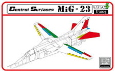 KARAYA 1/72 MiG-23 control surfaces - re-edition