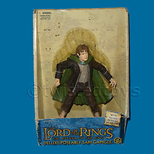 TOY BIZ MARVEL 2004 THE LORD OF THE RINGS DELUXE POSEABLE SAM GAMGEE FIGURE BOX