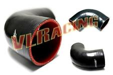 "2"" to 2"" 90 Degree Elbow Silicone Pipe Coupler Hose intercooler Turbo hose"