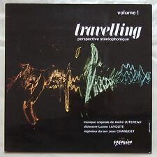 TRAVELLING ORCHESTRA Volume 1 FRENCH LIBRARY LP '60s GROOVY JAZZ Flute, Vibes
