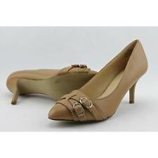 Nine West Jacinta Women US 6 Nude Heels Pre Owned  1627