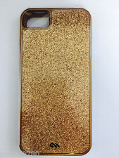 NEW OEM Case Mate Glam Slim Case with bumper for iPhone 5 / 5S -  Bronze