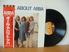"""ABBA """"All About Abba"""" Original JAPANESE Audiophile LP 1979 (DISCOMATE DSP-5108)"""