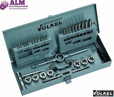 Volkel Germania Qualità HSS Metriche Rubinetto & Die Set m3-m12 METAL BOX