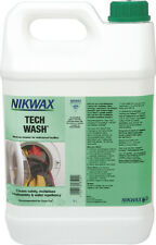 Nikwax Tech Wash - 5 Litre - High Performance Cleaner for Wet Weather Clothing