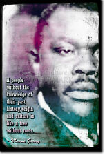 MARCUS GARVEY ART PRINT PHOTO POSTER GIFT QUOTE JAMAICA AFRICA CIVIL RIGHTS