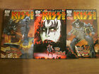 3x KISS SOLO #1 The Demon; Gene Simmons Jetpack Comics Exclusive cover & RI 1:10