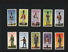 trade cards soldiers of the world 1966 full set