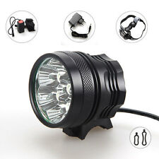 10000lm 7x CREE XM-L U2 LED Bicycle Bike Lamp Headlamp  light + 12000mAh Battery