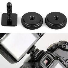 Deux écrous trépied Vis Flash Caméra Hot Shoe Adapter l'outil