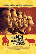 MEN WHO STARE AT GOATS - Movie Poster - Flyer - 11x17 - GEORGE CLOONEY